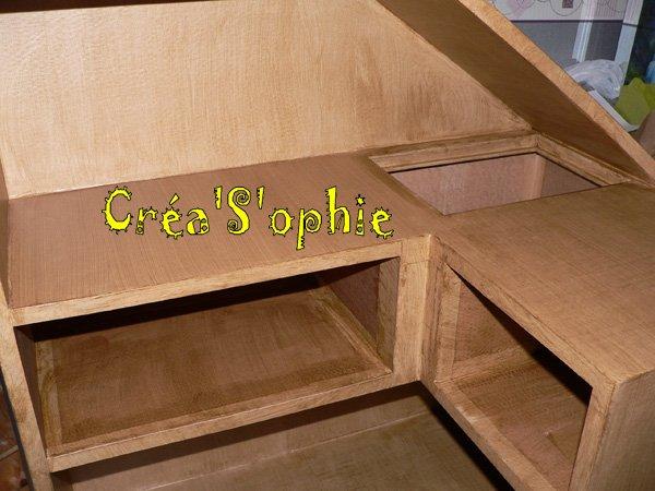 1er meuble en carton du d barras cr a s 39 ophie for Debarras meuble